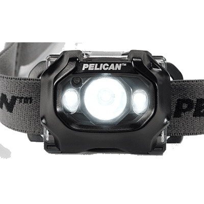 Pelican 2765 showing the main beam and the downcast LEDs